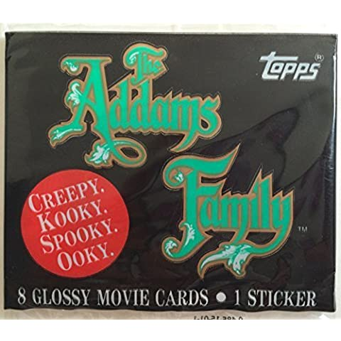 Topps The Addams Family Stickers - 8 Glossy Movie Cards by Topps