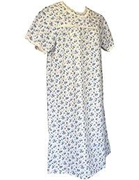 Sock Snob - Chemise de nuit femme boutonnée devant style victorien en 3 couleurs