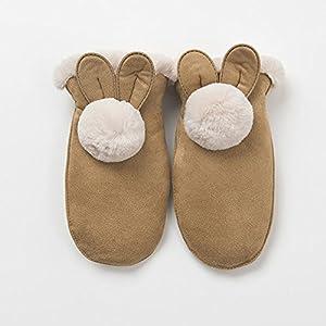 Unbekannt XIAOYAN Handschuhe Winter-Kinder-Nette warme Handschuhe für 5-10 Jahre alt Bequem