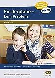 Förderpläne - kein Problem: Beobachten - entwickeln - durchführen - evaluieren (1. bis 10. Klasse)