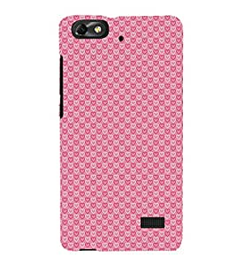 Heart Symbols 3D Hard Polycarbonate Designer Back Case Cover for Huawei Honor 4C :: Huawei G Play Mini