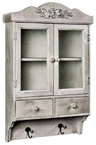 Generic awe Design Orage Dis montiert antikes Wandmontage, verglaste Tür, Schublade, Schublade, Di-Aufbewahrung, azed Door Cabinet -