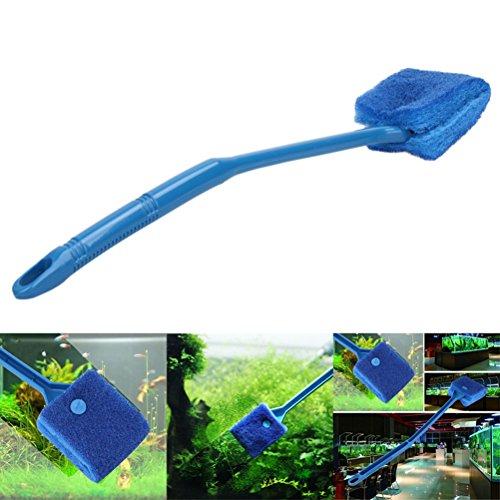 nk Reinigungsbürste Aquarium Pflanze Algen von 2(blau) ()