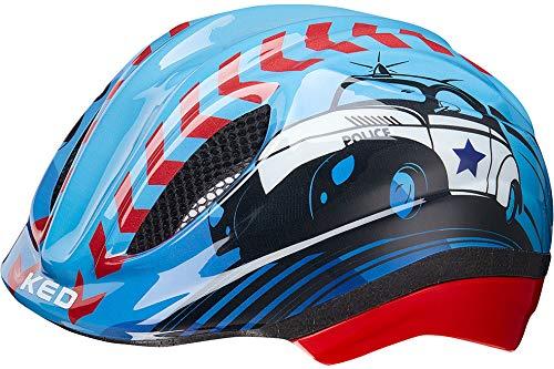 Preisvergleich Produktbild KED Meggy Trend Helmet Kids Police Kopfumfang M / 52-58cm 2019 Fahrradhelm