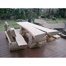 Gartentisch holz rustikal  Suchergebnis auf Amazon.de für: gartentisch holz rustikal