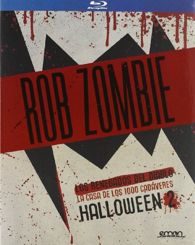 Pack: Rob Zombie (The Devil`S Rejects + House Of 1000 Corpses + Halloween Ii) --- IMPORT ZONE B --- [2012]