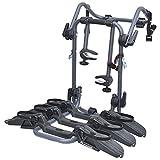 Peruzzo 709/3 Pure Instinct Heckfahrradträger 3 Fahrräder, schwarz, 100 x 80 x 70 cm