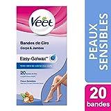Veet - Bandes Peau Sensible - Cire Froide - x 20