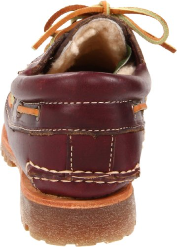 Timberland NOREEN 3EYE SHEARLNG BURG 18617, Mocassini donna Marrone (Braun/Burgundy)