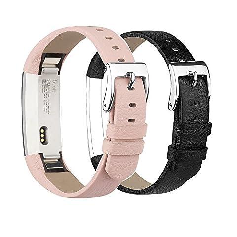 Fitbit Alta/Alta HR Bracelet Remplacement strap de luxe en cuir