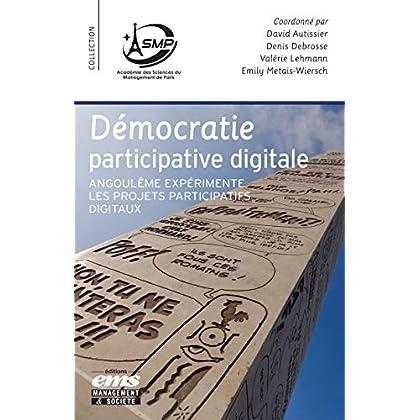 Démocratie participative digitale: Angoulême expérimente les projets participatifs digitaux (Académie des Sciences de Management de Paris)