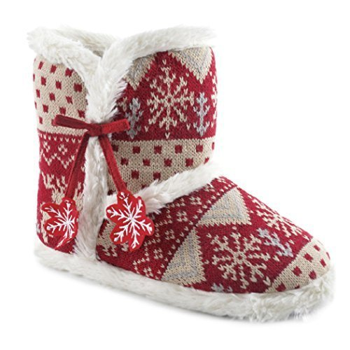 SlumberzzZ, Pantofole donna Red / Beige