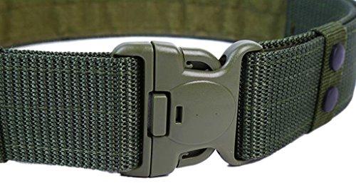 uomini-55mm-nylon-tactical-belt-rescue-regolabile-duty-no-metal-army-green