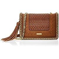 Aldo Crossbody Bag for Women, Polyester, Camel - TRENZANO28