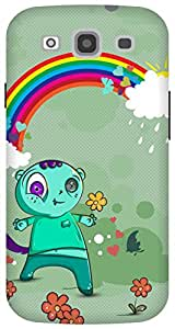 The Racoon Grip Happy Monsters hard plastic printed back case/cover for Samsung Galaxy S3