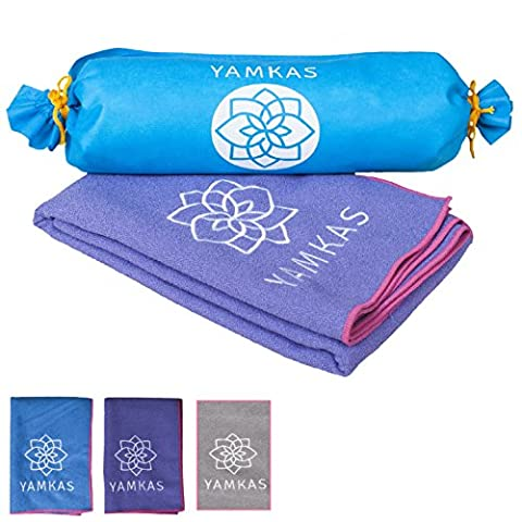 serviette yoga - 100% microfibre yoga towel – beaucoup de couleurs – utile pour faire des exercises de pilates, sport towel , beach towel