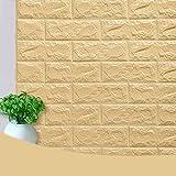 Moderne DIY Stickers Muraux 3D Brique Papier Peint Brique Amovible Stickers Muraux...