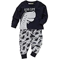 Lullaby Toddler Boys Dinosaurs Roarsome Stomp Long Pyjamas