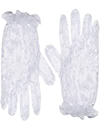 Be Wicked Women's Wrist Length Lace Gloves