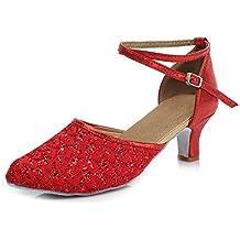 top design in vendita all'ingrosso 2019 prezzo all'ingrosso Amazon.it: scarpe da ballo - Rosso