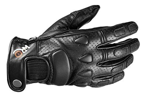 Windsoroyal - Motorradhandschuhe ?Bolton? für Herren, Sommer-Handschuhe, Schwarz, XL