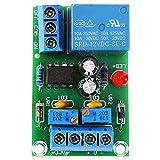 SODIAL 12 V Batterie Automatische Aufladung Controller Modul Schutzplatine Relais Platine Modul Anti-Transposition Intelligentes Ladeger?t