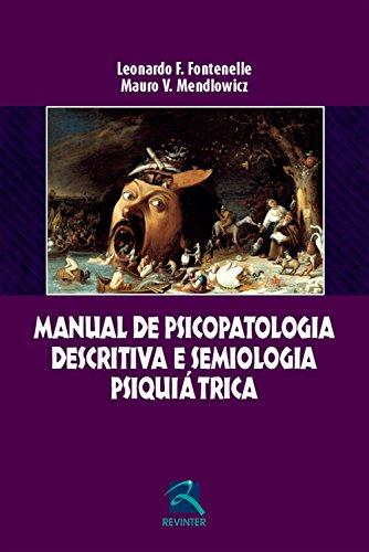 Manual de psicopatologia descritiva e semiologia psiquiátrica Epub Descargar