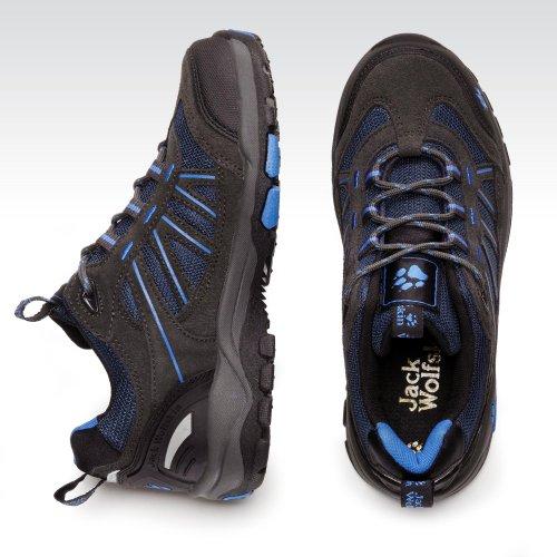 Jack Wolfskin CROSSHIKE 4004631-4011340 Unisex-Kinder Trekking & Wanderschuhe - ensign blue