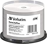 Verbatim  DVD-R 16x Wide Printable Waterproof No ID Brand