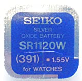 Seiko Watch Battery 391 –