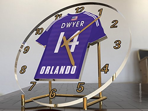 MLS Major League Soccer Jersey–Fußball Kit Desktop Uhren–Name, beliebige, jedes Team. Orlando City SC MLS (Fußball Trikot Kaka)