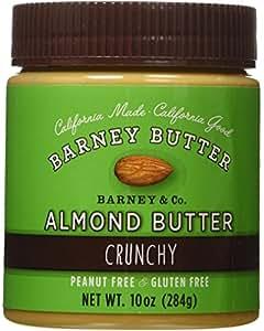 Barney USA Almond Butter Crunchy 284g
