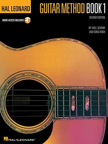 Hal Leonard Guitar Method Book 1 Second Edition (Book & Audio Download): Lehrmaterial, Download (Audio) für Gitarre (Hal Leonard Guitar Method Books)