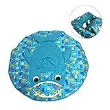 Su-luoyu Protège Chariot pour Enfant Siège Coussin de Jeu Confortable Bleu Motif de thème océan Amusant Pratique