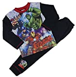 garçons AVENGERS MARVEL Pyjama Set THOR HULK IRON MAN CAPITAINE AMERICA 4-5y to 9-1 - Full Picture, 4-5 Ans