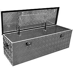 Aluminio Caja de herramientas/caja de transporte, dimensiones aprox. 1240x 400x 380mm