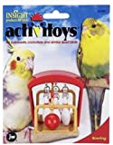 JW Birdie Bowling Activity Bird Toy