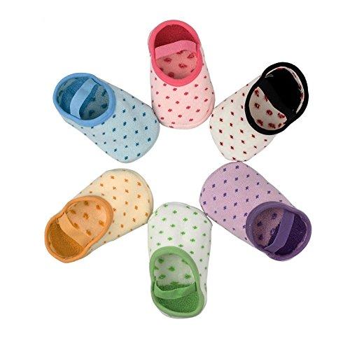 Yober Calcetines Antideslizantes para Bebes y...