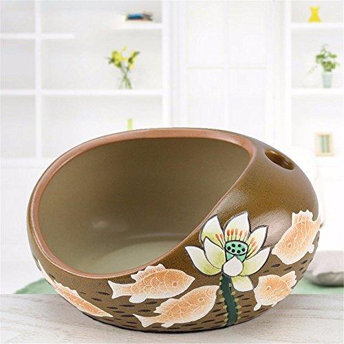 LOSTRYY Hogar mobiliario artesanal de mesa Sala Cenicero, C (Mesas De Sala)