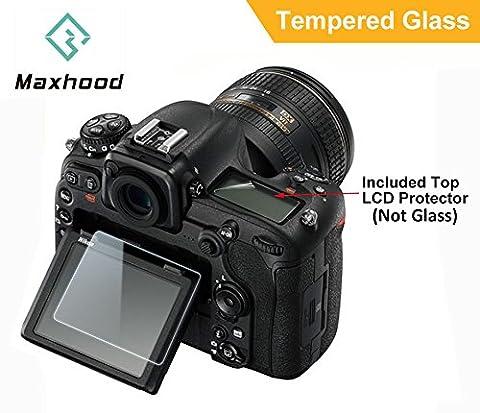 maxhood Nikon D500optique Protection d'écran en verre trempé, dureté 9H