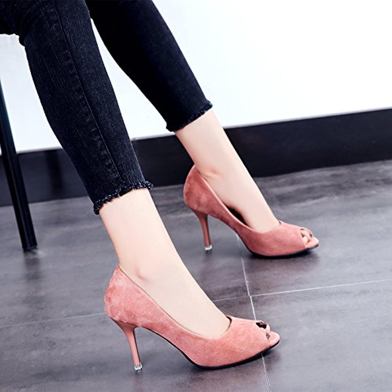 Die Mädchen Sommer Sandalen high-heel Schuhe feine Fuß schwarze Mädchen Schuhe einstellen