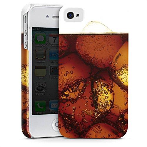 Apple iPhone X Silikon Hülle Case Schutzhülle Cola Getränk Eiswürfel Premium Case glänzend