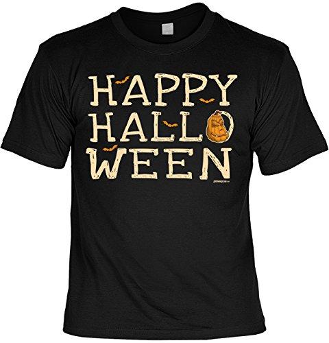 Halloween T-Shirt - Happy Halloween - gruseliges Shirt als lustige Alternative zum Halloween ()