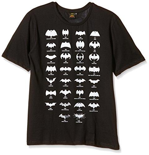 Batman - Batman All Logo, T-shirt da uomo, nero (noir), X-Large (Taglia Produttore: XL)