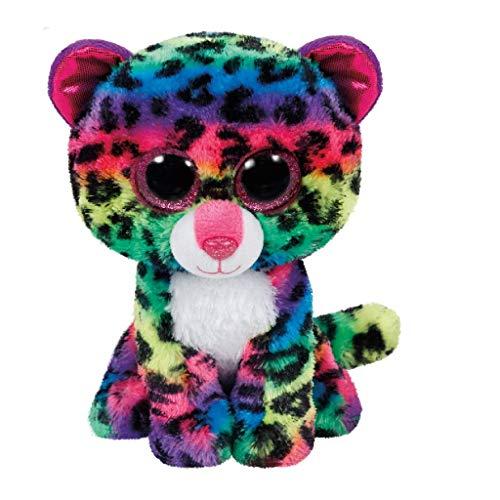 "Beanie Boo Leopard - Dotty - Multicoloured - 15cm 6"""