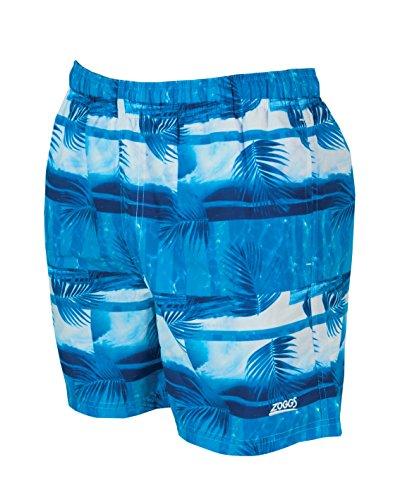 Zoggs Port Sea Short de bain pour homme à motifs de la mer Bleu - Multicolore