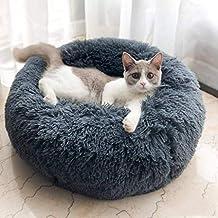 Cama para mascotas, colchón Redondo Universal de Cuatro Estaciones para Perros y Gatos, de