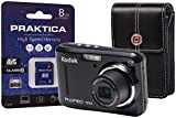 KODAK PIXPRO FZ43 Camera Kit with 8 GB SDHC Card and Case - Black