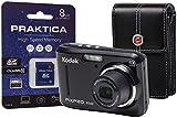 KODAK PIXPRO FZ43 Camera Kit with 8 GB SDHC Card and Case - Black