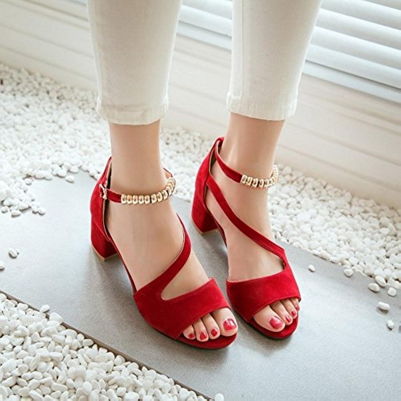 BAJIAN-LI Alta heelsdonna sandali estivi di Peep toe toe toe scarpe basse Ladies Flip Flop sandali scarpe | Materiali Di Alta Qualità  | Maschio/Ragazze Scarpa  68e1c6